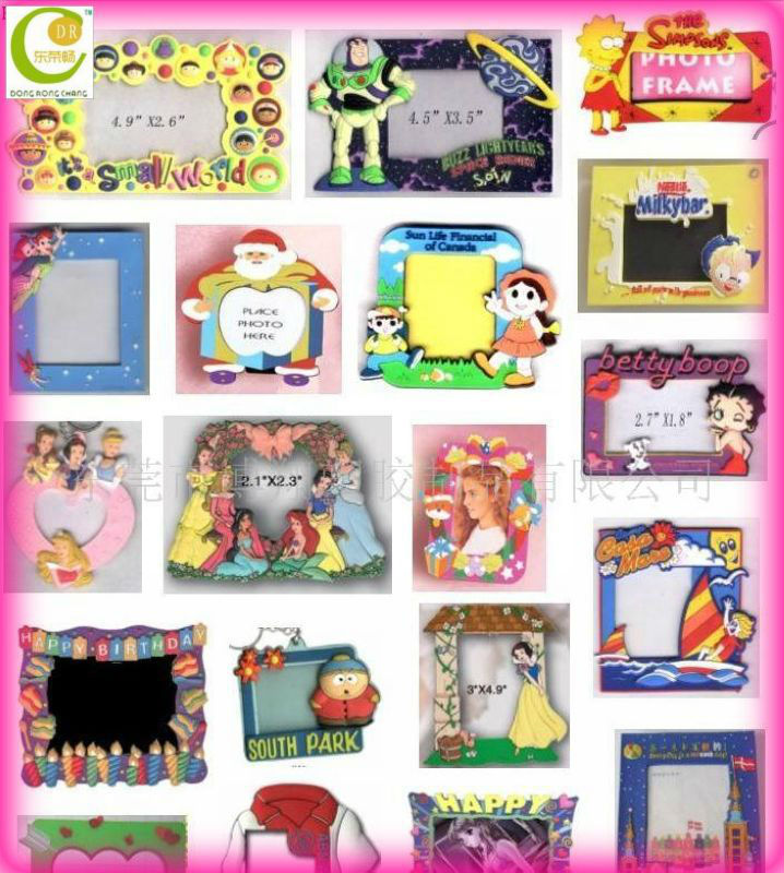Custom advertisment and promotional PVC 2012 funny photo frames