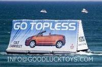 Доска для объявлений water billboard, advertising floating on water, outdoor advertising, displayer, factory price