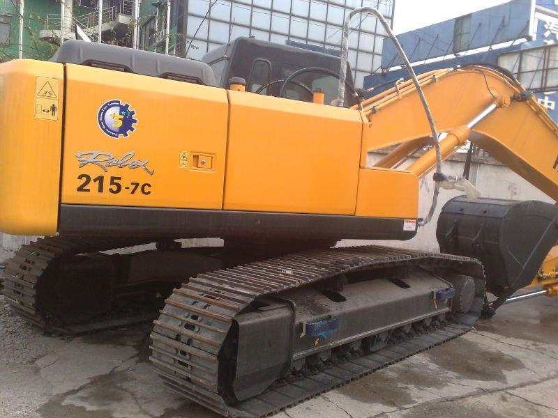 21t Hyundai Crawler excavator R215LC-7C/R210LC-7