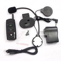 2013 New 1000m Hands-off communication Bluetooth Intercom Motorcycle  helmet Bluetooth Interphone with 1000M Talking Range free
