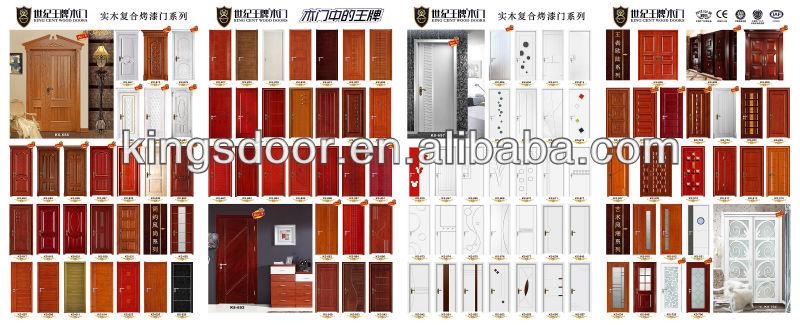 Teck portes en bois couleur de vernis portes id de produit 1707934076 french - Porte insonorisee interieur ...