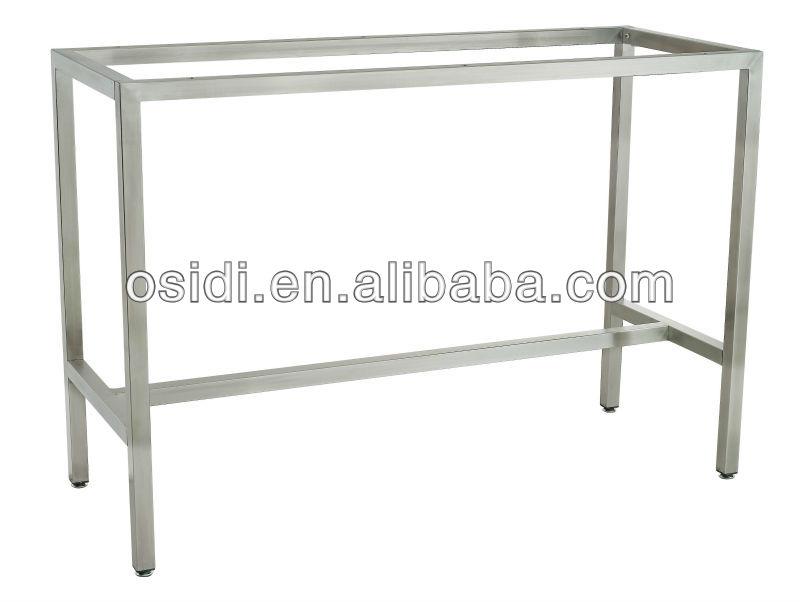 Kd Table Frames/ Stainless Steel Table Frame/ Bar Table Frame - Buy ...