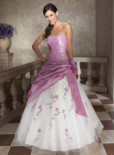 Stock light purple Wedding Brides Dress size 6 8 10 12 14