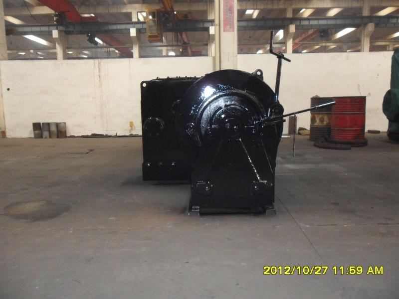350KN marine hydraulic mooring winch