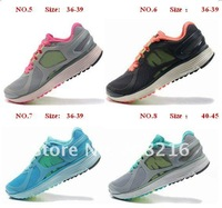Женские кроссовки Brand New 2012 4.5# running shoes sport footwear unisex sneakers for sale with discount Many Colors 36-45