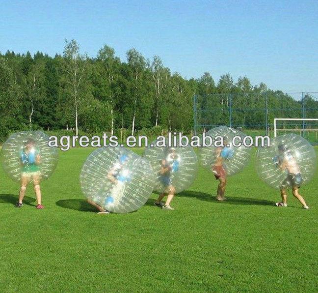 Cheap body zorb ball, bumper ball, bubble football G7010