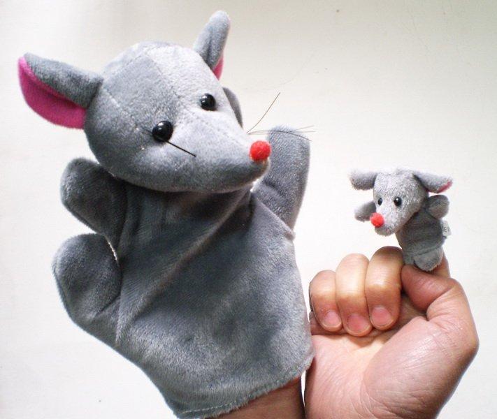 Como se hace un titere de raton - Imagui
