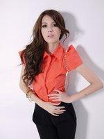 Женские блузки и Рубашки Slim #10760