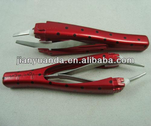 Hot Eyelash tweezers&Plastic Good Eyelash tweezers