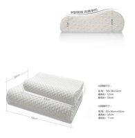 1pcs Factory direct massage memory foam pillow, zero stress healthy wave neck me memory pillow