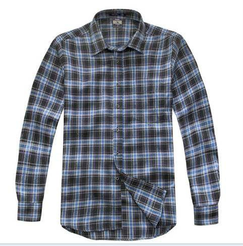 Para hombre de algodón ligero camisas de mangas largas 1. 100% tela