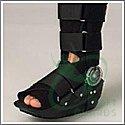 Cam adjustable walker cast boot