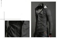 Мужская толстовка Spring and autumn with a hood cardigan casual napping fleeces male outerwear