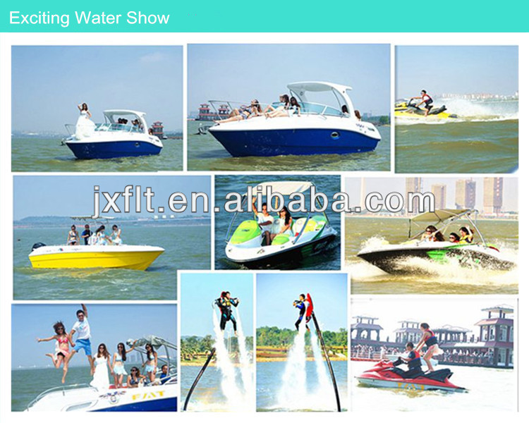 economical 4 passengers 200HP engine FRP family speed Boat