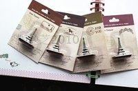 Печать Fancy Eiffel tower stamps 6 patterns 4.5*3.5*2cm
