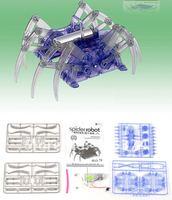 Детское электронное домашнее животное DIY toy Battery Powered Spider Robot Assembling toy Educational toy