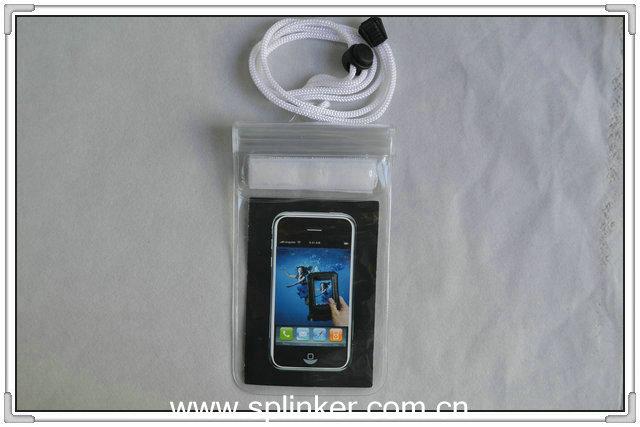 Transperant TPU Waterproof Cell Phone Bag P5509TPU-30