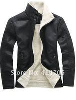 Мужские изделия из кожи и замши Leather coat + : s/xl