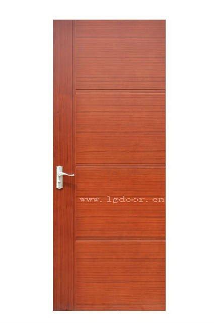New Design Wooden Door Red Flush Door Waterproof Wpc Doors Design M045 View Flush Door Long