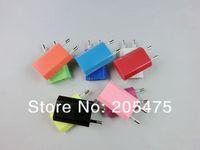 Зарядное устройство для мобильных телефонов 1000pcs/lot Factory Price EU USB Wall Charger AC Adapter for iPhone 4 for iPhone 5 via dhl shipping