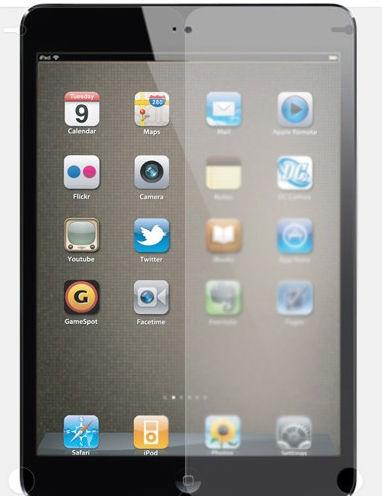High transparent screen protector for ipad mini 2