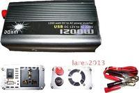 Инвертирующий усилитель мощности NEW 24v DC to AC 220v AC 1200W Mobile Car Power Inverter USB