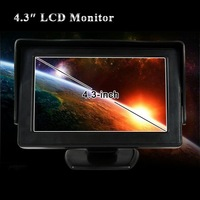 Аудио для авто Drop shipping hot selling 4.3inch Folded TFT LCD Monitor