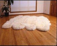 Диванная подушка 1pcs Genuine Sheepskin Carpet white