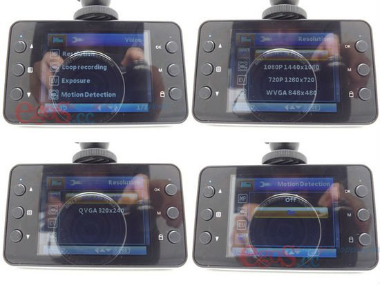 X3 Camera Car Using Blackbox Full HD 1080P with G-Sensor + Motion Detection + Night Vision + 140 degree + Free Shipping