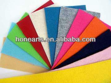 colored Wool felt / Wool felt manufacture