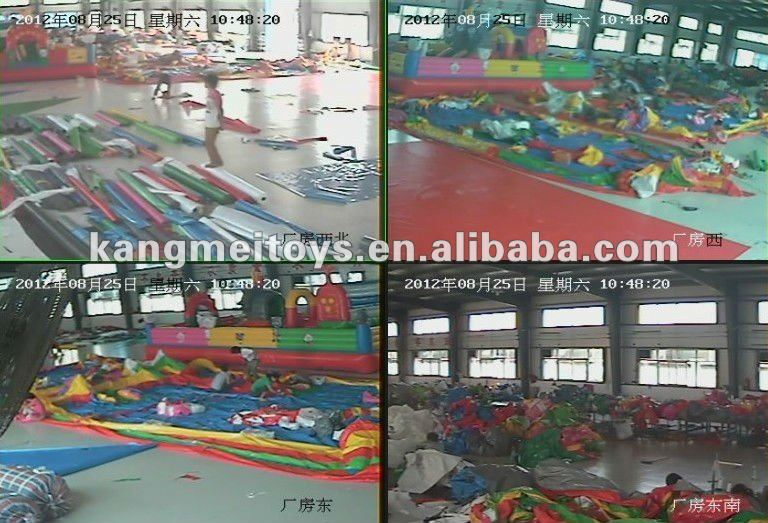 Yiwu 2013 lovely giant inflatable bouncy for kids toys KM5022