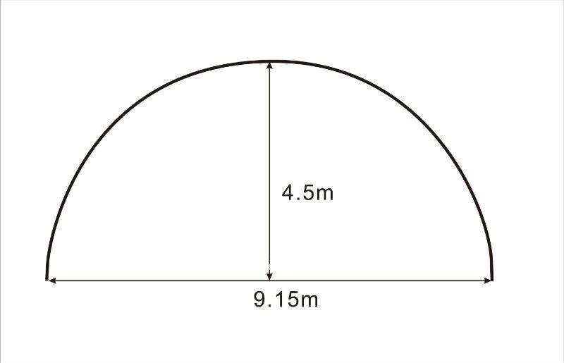3040 20x9.15x4.5m