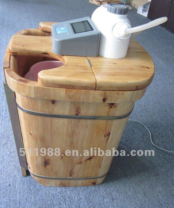 Baño De Tina Para Adelantar El Parto:8806a limpieza de iones y la cámara de vapor de lavado de los pies