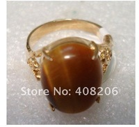Кольцо Beautiful Tiger Eye stone Ring 7#8#9