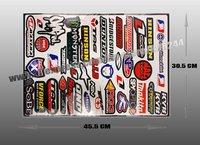 Free Shipping Speed Racer Combination Logo Motorcycle Sticker Car Decal DE046
