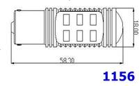 Источник света для авто 1 pair 11W Foglamp 1156 1157 T20S T20D 3156 3157 H4 H7 H8 H10 H11 9005 9006 Samsung + CREE chipset High Power led FFF