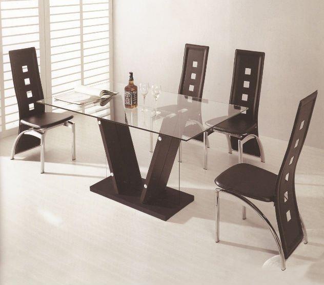 Muebles del comedor moderna caliente de la venta mdf y for Muebles de comedor en vidrio