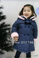 Куртка для девочек Latest jacket / coat thick sherpa lining DJ23 blue