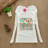 L33 Free shipping 2011 new style fashion cute cartoon Tshirts funny T shirts designer T shirts olorful free size