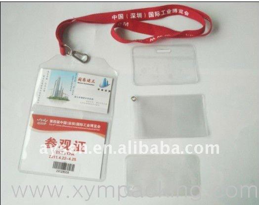 transparenter Identifikation-Kartenhalter
