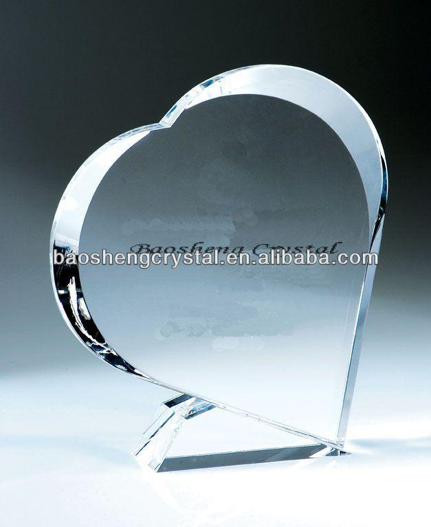 Heart shaped wedding souvenirs / wedding Card (BS-CG056)