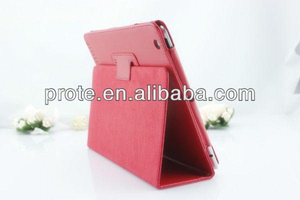 factory lowest price for ipad mini leather case