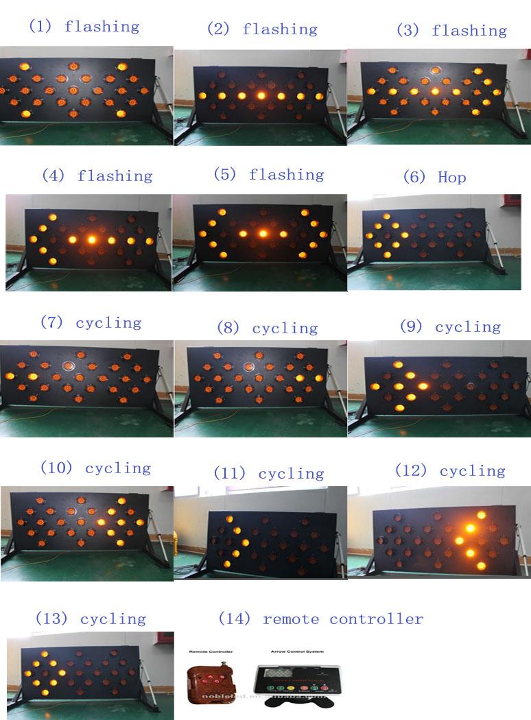 luzes led solar arrow câmara