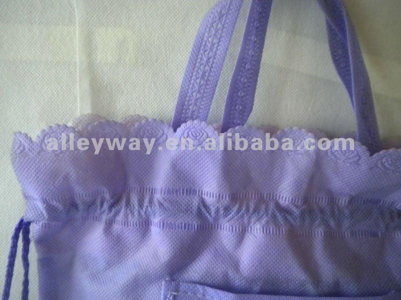 drawstring bag / folding shopping bag/foldable shopping bag