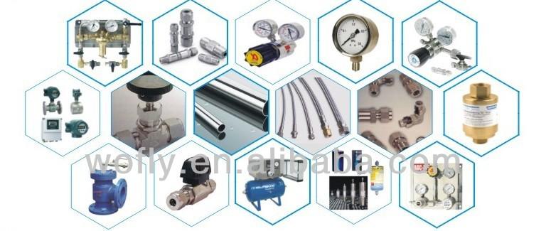 high pressure connecting cylinder medical oxygen regulator