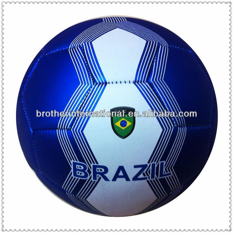 Machine Stitched customized soccer ball/football