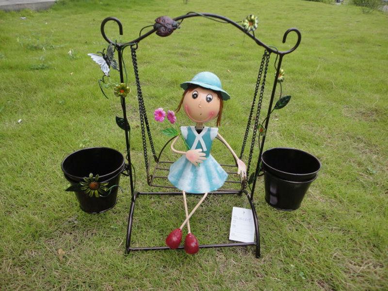 Al por mayor del metal, outdoor decoracion jardin al por mayor ...