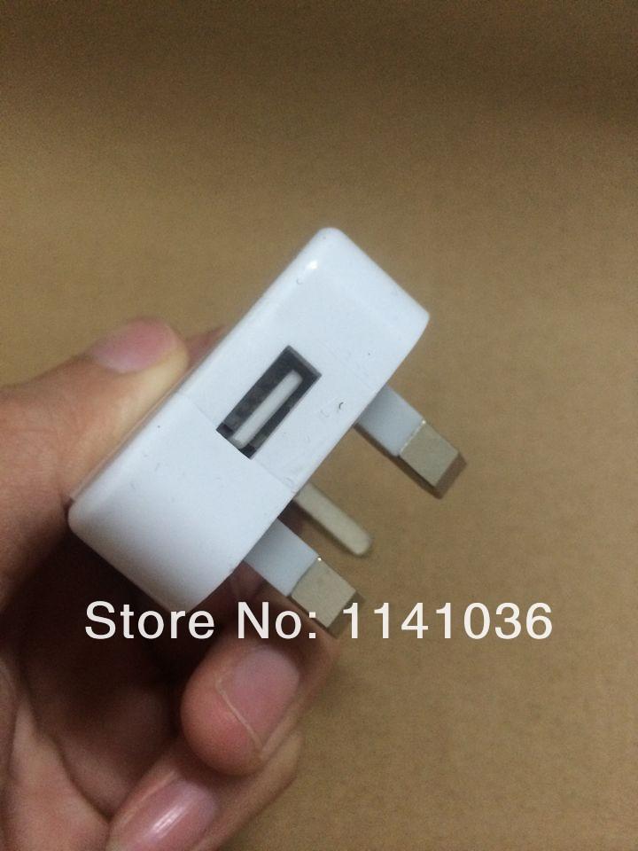 Зарядное устройство для мобильных телефонов UK USB Power Adapter 5V 1A for Apple iPhone 3G/3Gs/4/4s/5/5s/5c Wall AC Charger Factory