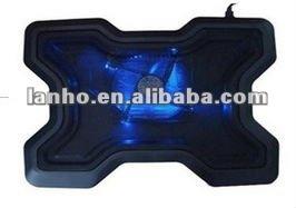 Big USB fan For Laptop Cooling Cooler Pad+ 2 Ports Hub