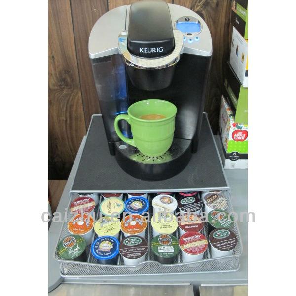 Nifty 36 gousses k coffee cup holder rack organisateur k tasse de caf ti - Tiroir capsule dolce gusto ...